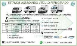Estamos agregando veículo refrigerado em Itupeva ! Van-HR, VUC, 3/4!