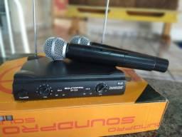 Microfone sem fio Soundpro SP-520