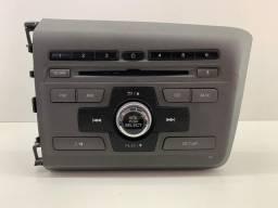 Rádio Honda Civic 2012/2015 Original Semi Novo