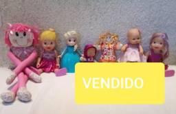 Lote de brinquedos para meninas