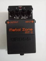 Título do anúncio: Pedal Boss MT-2 Metal Zone