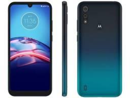 Smartphone Motorola Moto E6S 64GB Azul novo na caixa