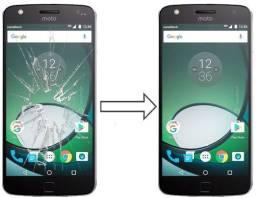 Título do anúncio: Vidro da Tela para Moto Z Play , Mantenha a Originalidade do seu Estimado Celular!