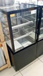 Expositor confeitaria Seca Refrimate 60cm - Moacir