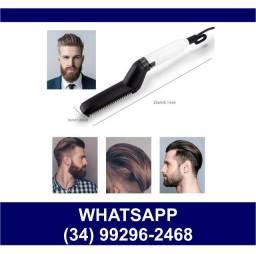 Prancha Chapinha Masculina Cabelo e Barba * Bivolt * Fazemos Entregas