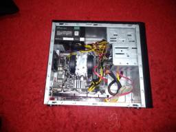 Kit Pc: Fx-6300 + 12gb Ddr3 + Placa mãe + Gabinete + Leitor de disco.