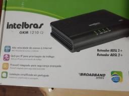 Roteador ADSL 2+ Intelbras Gkm 1210 Q