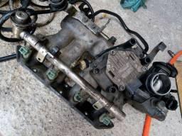 Bicos, coletor alumínio completo gol16v turbo