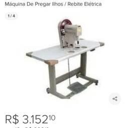 MÁQUINA DE PREGAR ILHOS/REBITE ELÉTRICA HOSEKI !!USADA....