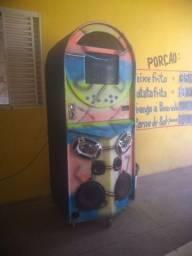 Máquina de música para bar conservada