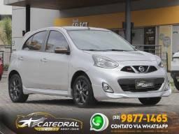 Nissan MARCH Rio2016 1.6 Flex Fuel 5p 2016 *Novíssimo* Aceito Troca