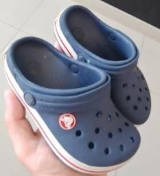 [Baixou] Crocs Infantil - Tam 25 - Conservada!!!