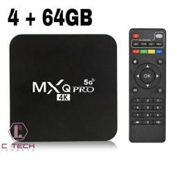 TV box mxq pro 4k + Teclado Wireless