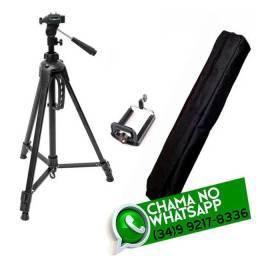 Suporte Tripé para Celular e Câmera 1,20 m * Poucas Peças