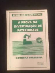 A Prova na Investigação de Paternidade - Fernando Simas Filho