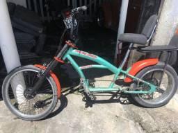 Bicicleta chopper custom low ride