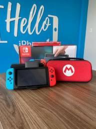 Nintendo Switch V1 + 2 JOGOS