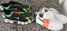 Tenis Nike shox 42 e Nike 37 novos