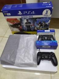 PS4 SLIM 500GB O MAIS COMPLETO