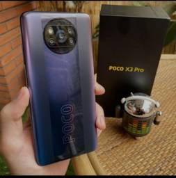 Poco X3 Pro 256 GB, 8 de RAM + Fone sem fio Xiaomi