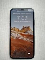 Título do anúncio: Vendo iPhone X 256GB Cinza-espacial - Excelente estado de conservação