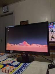 """Monitor AOC 21,5"""" c/ defeito"""