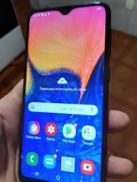 Vendo Samsung a10s novo aceito outro mais volta