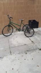 Bicicleta driciculo enteira!!!.