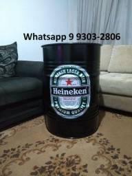 Tambor Heineken preto
