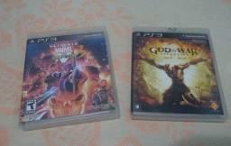 Jogos Ultimate Marvel vs Capcom 3 e God of War ascension para PS3 (Mídia Física)