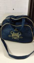 Bolsa azul de bebê