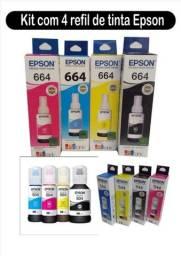 Epson tinta original  T544   644   504  kit 4 cores