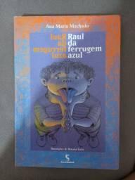 """Livro 'Raul da ferrugem azul"""""""