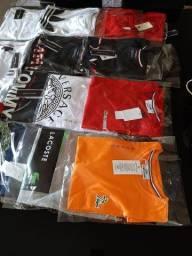 Camisas malha Peruana Premium penteada fio 40.1