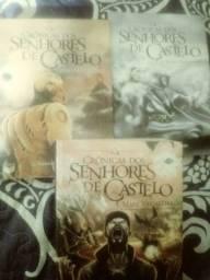 Livros senhores do castelo 45 reais 3