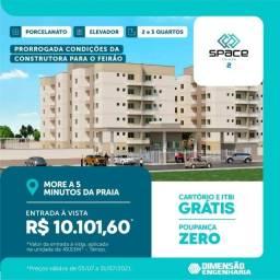 Título do anúncio: A=Space Calhau 2, apartamentos com 2 a 3 quartos, 49 a 72 m²