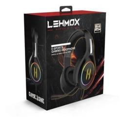 Headset gamer Lehmox hyper GT-F3 Luz RGB ENTREGA GRÁTIS