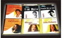 Kit com 13 cds de músicas popular brasileira (leia o anúncio todo)