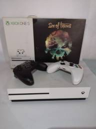 Xbox One S 1tb 4k 2 Controles edição Sea Of Thieves