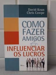 """Livro """" Como fazer amigos e influenciar os lucros"""""""