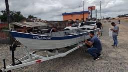 Barco 6 metros motor 25
