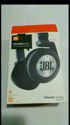 Fone de ouvido jbl Bluetooth radio fm entrada de cartão micro sd