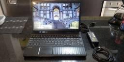 Notebook Sony Vaio core i3 4GB memória SSD