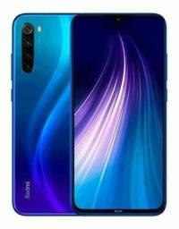 Xiaomi Note 8 azul impecável 128GB TROCO
