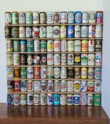 Coleção Latas de Cerveja Vazias