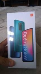 Vendo smartphone xiaomi redmi note 9 4GB de RAM e 128GB de memória