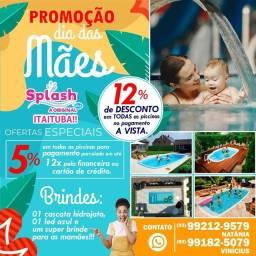 Promoção - Dia das Mães Splash Piscinas Itaituba