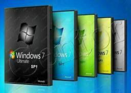 DVD de formatação Windows 7, 8.1 e 10, leia o anúncio.