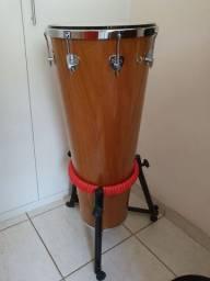timbal md 90x14 natural madeira 8 tarraxas