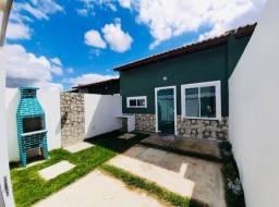 DP casa nova com 3 quartos 2 banheiros com documentação gratis